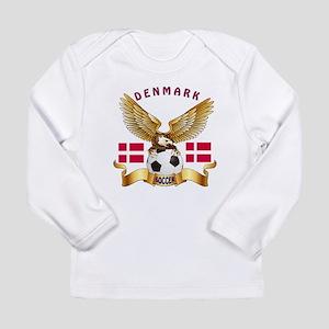 Denmark Football Design Long Sleeve Infant T-Shirt