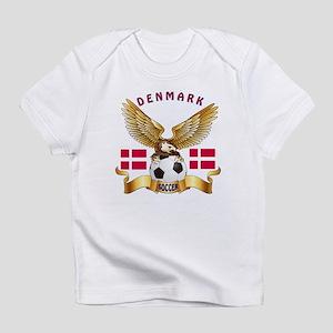 Denmark Football Design Infant T-Shirt