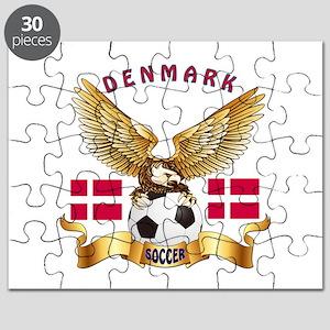 Denmark Football Design Puzzle