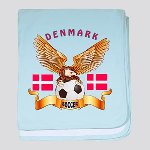 Denmark Football Design baby blanket