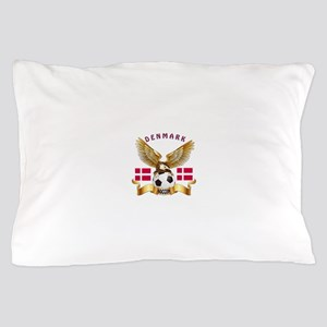 Denmark Football Design Pillow Case