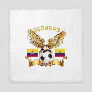 Ecuador Football Design Queen Duvet