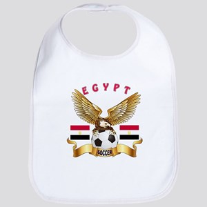 Egypt Football Design Bib