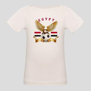 Egypt Football Design Organic Baby T-Shirt