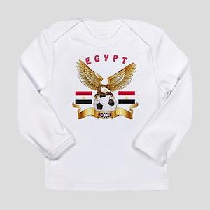Egypt Football Design Long Sleeve Infant T-Shirt