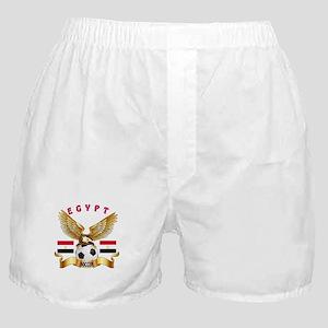 Egypt Football Design Boxer Shorts