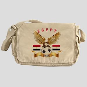 Egypt Football Design Messenger Bag