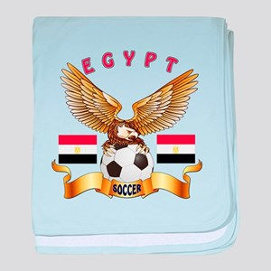Egypt Football Design baby blanket