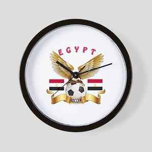 Egypt Football Design Wall Clock