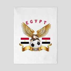 Egypt Football Design Twin Duvet