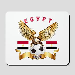 Egypt Football Design Mousepad