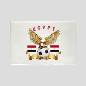 Egypt Football Design Rectangle Magnet