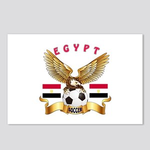 Egypt Football Design Postcards (Package of 8)