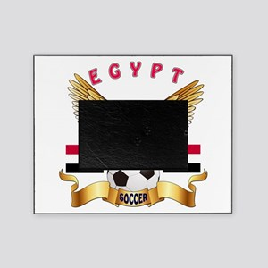 Egypt Football Design Picture Frame