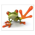 Tree Frog Small Poster