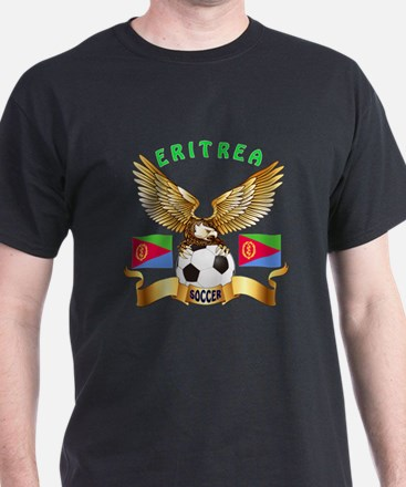 Eritrea Football Design T-Shirt