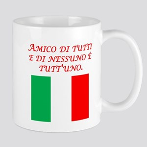 Italian Proverb Friend To All Mug