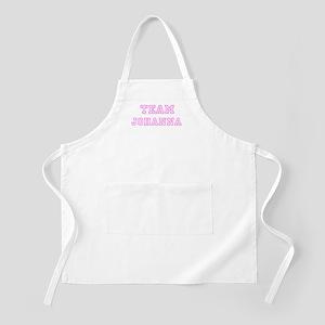 Pink team Johanna BBQ Apron