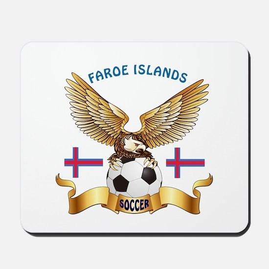 Faroe Islands Football Design Mousepad
