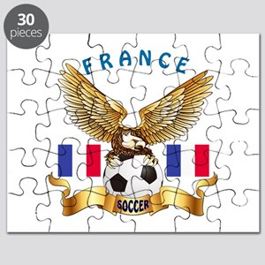 France Football Design Puzzle