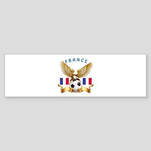 France Football Design Sticker (Bumper)
