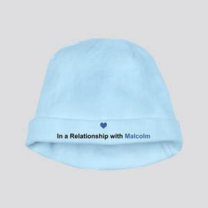Malcolm Relationship baby hat