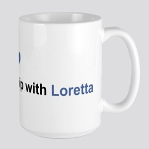 Loretta Relationship Large Mug