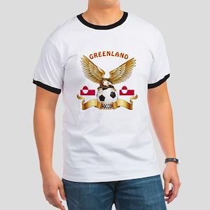 Greenland Football Design Ringer T