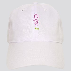 Ava-cute-stick-girl Cap