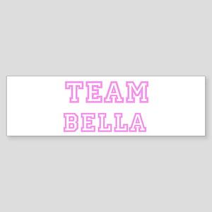 Pink team Bella Bumper Sticker