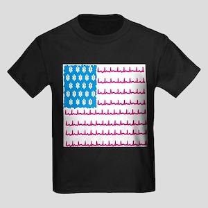 EMS flag Kids Dark T-Shirt