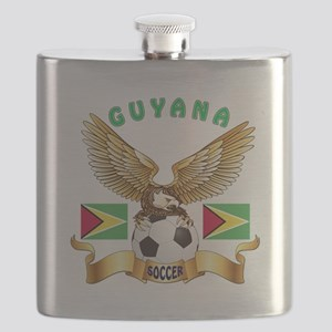 Guyana Football Design Flask