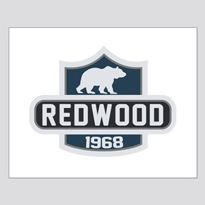 Redwood Nature Badge Small Poster