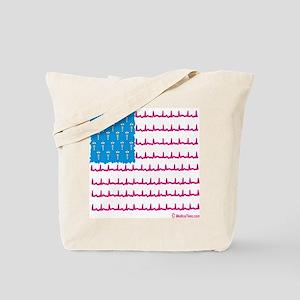 Medical flag Tote Bag