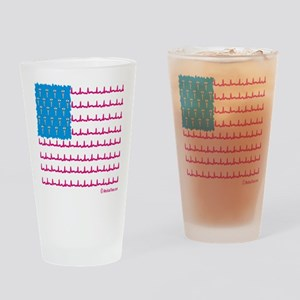 Medical flag Drinking Glass
