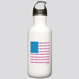 Medical flag Stainless Water Bottle 1.0L