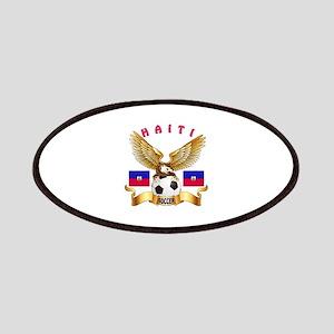 Haiti Football Design Patches