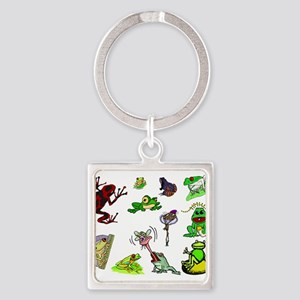 lovefrogback Square Keychain