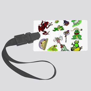 lovefrogback Large Luggage Tag