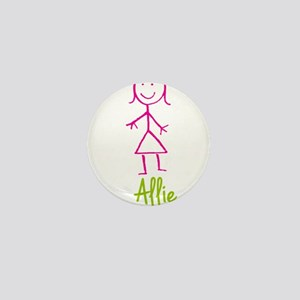 Allie-cute-stick-girl.png Mini Button
