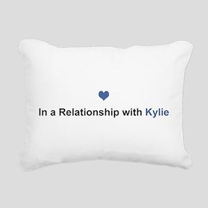 Kylie Relationship Rectangular Canvas Pillow