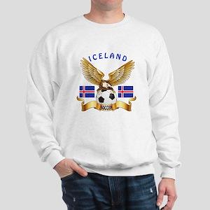 Iceland Football Design Sweatshirt