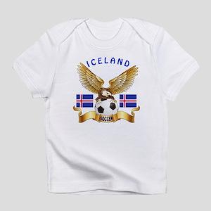 Iceland Football Design Infant T-Shirt
