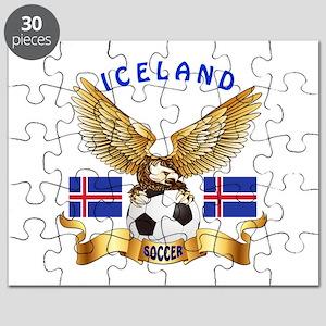 Iceland Football Design Puzzle