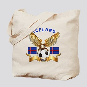 Iceland Football Design Tote Bag