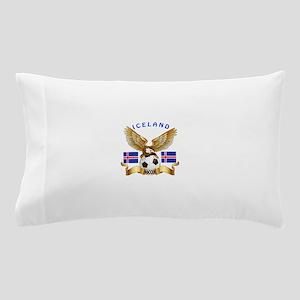 Iceland Football Design Pillow Case