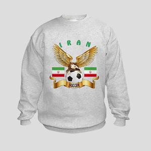 Iran Football Design Kids Sweatshirt