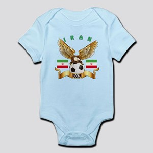 Iran Football Design Infant Bodysuit