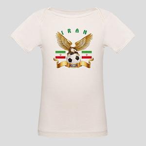 Iran Football Design Organic Baby T-Shirt
