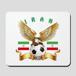 Iran Football Design Mousepad